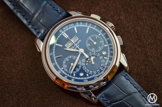 Patek Philippe Replica 5270 Perpetual Calendar Chronograph Blue