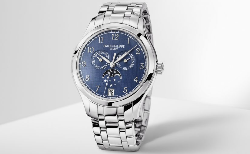 Patek Philippe Ref. 4947/1A-001 Annual Calendar Copy Watch In Stainless Steel