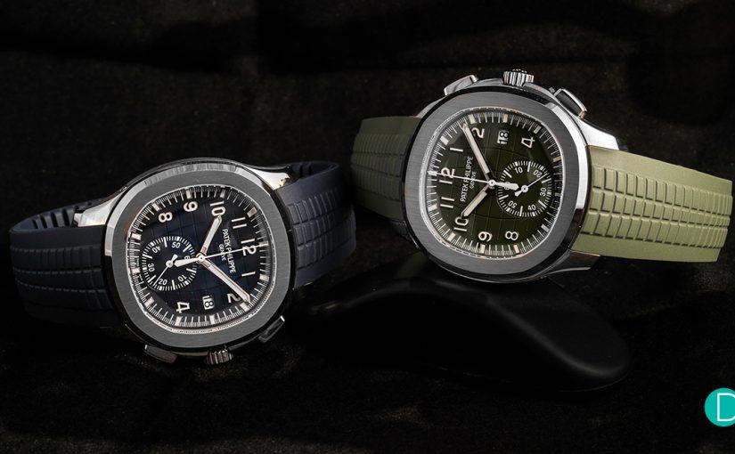 New Copy Patek Philippe Aquanaut Chronograph Ref. 5968G Watches
